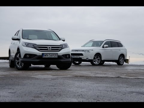 Mitsubishi Outlander vs Honda CR-V (TEST)