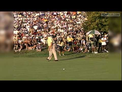 Check out the top 5 shots in the history of the RBC Canadian Open from John Rollins, Chez Reavie, Jim Furyk, Leif Olson and Tiger Woods.