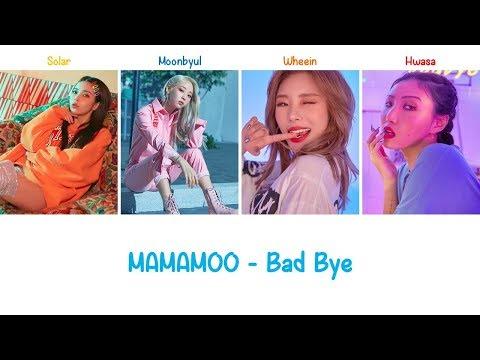 Download Bad Bye | MAMAMOO s Color Coded ENG+ROM Mp4 baru