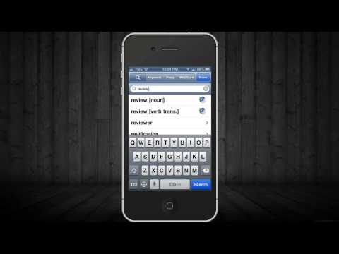 Shorter Oxford English Dictionary app Review