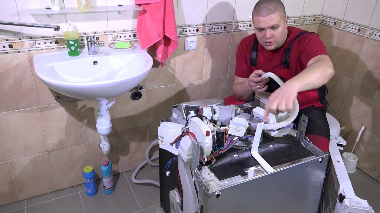 Разборка посудомоечной машины своими руками 51