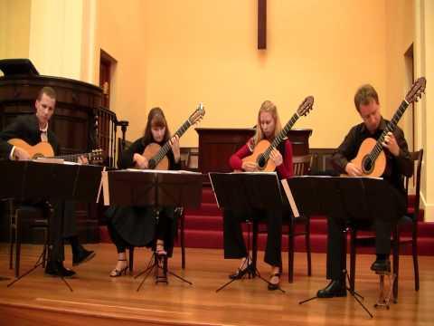 Capriccio Espagnol (IV,V), The New Zealand Guitar Quartet