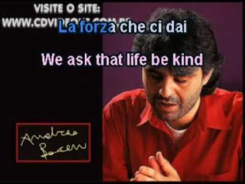 Andrea Bocelli   The Prayer