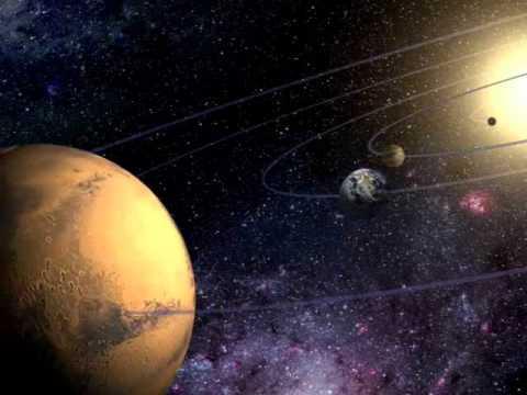 3D Путешествие по солнечной системе. Земная группа..wmv