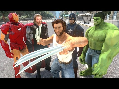 AVENGERS VS X MEN - EPIC BATTLE