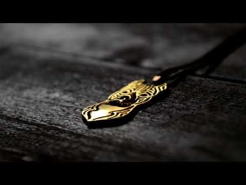 Pitbull necklace - #KimThePitbull