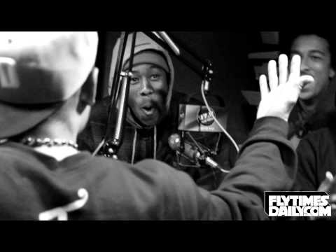 Odd Future in Dallas: Skateboarding + Fighting + HILARIOUS Radio Interview 12/5/2012