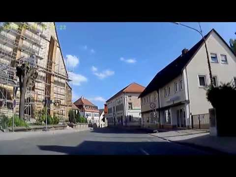 Schelitz Landkreis Bamberg Ortsdurchfahrt Umleitung zur B 22 Mai 2013