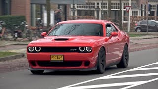 Dodge Challenger SRT-8 Hellcat - BURNOUT, REVS, ACCELERATIONS!