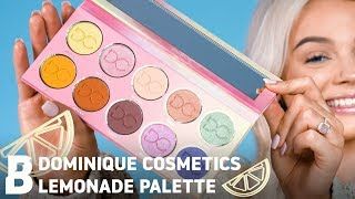 SWATCHING DOMINIQUE COSMETICS LEMONADE PALETTE | Beauty Bay