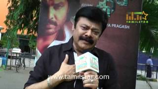 Madhan Bob At Adhibar Movie Press Meet