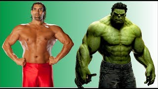 Hulk Vs The Great khali