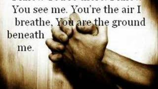 """I Know You're There"" - Casting Crowns"