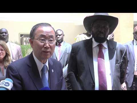 South Sudan UN talking Salva Kiir and Riek Machar