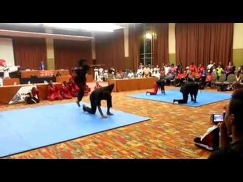 BLACK HAWKS TEAM TRINIDAD AND TOBAGO DEMO NAFMA WORLD CHAMPIONSHIPS 2013