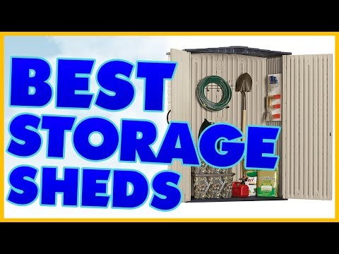 10 Best Storage Shed Reviews 2017