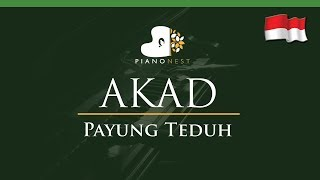download lagu Payung Teduh - Akad Indonesian Song - Lower Key gratis