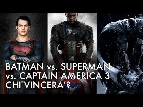 BadTaste News #30 - Batman vs. Superman vs. Captain America 3: chi vincerà?