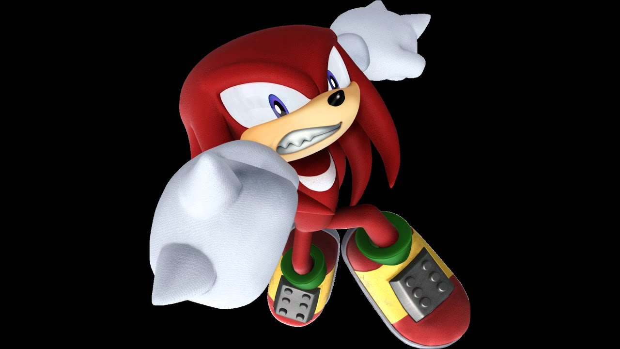 Super Knuckles vs Super Sonic Sonic Tails And Knuckles