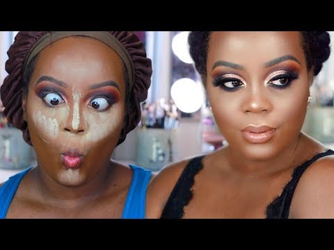 Flawless Full Coverage Foundation Routine| Affordable Products!