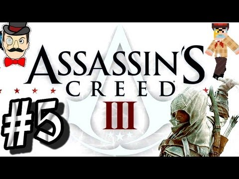 ASSASSIN'S CREED 3 Walkthrough Part 5! Gameplay - Hello America!