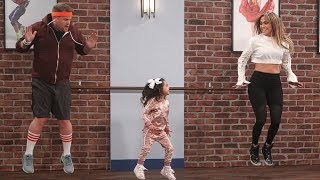 Jennifer Lopez & James Corden Get Taught How To Dance By Toddlers