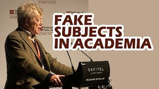 Roger Scruton: How Fake Subjects like Women Studies Invaded Academia
