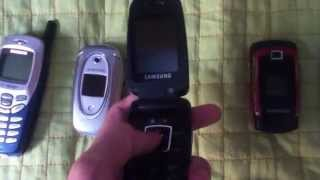 Samsung cell phone collection