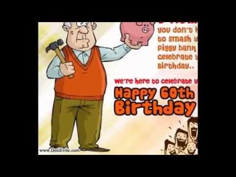 Happy 60th Birthday Greetings card/E-card/Egreetings/Wishes for Mom ...: www.youtube.com/watch?v=990AEjUAfns