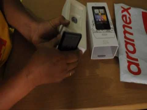 HTC Aria Android 2.10 OS Unboxing (very useful for HAM enthusiast )