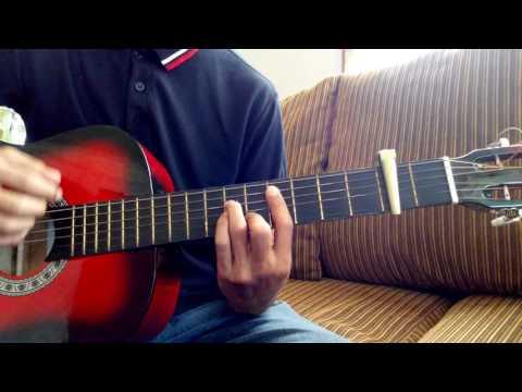 Dari mata by Jaz - guitar chord