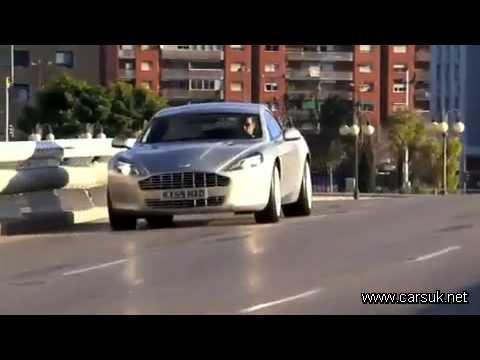 Aston Martin Rapide, официальное промо-видео