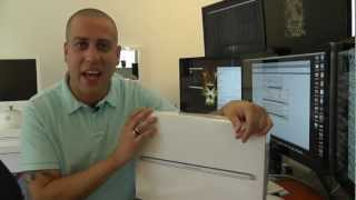 Retina MacBook Pro Unboxing And first Look