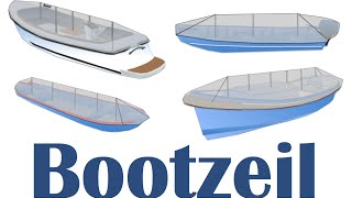 Open boat: Installation movie ShapeX sloop