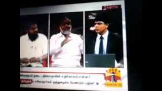 Vishwaroopam - Vishwaroopam-thanthi tv discussion -welfare party tn president.flv