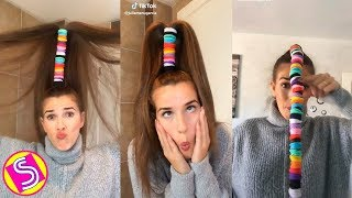 Rubber Hair Challenge Musically Compilation 2018 - Best Musically Challenges