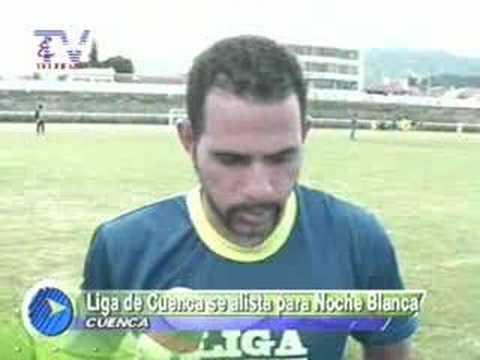 Liga de Cuenca se alista para noche blanca