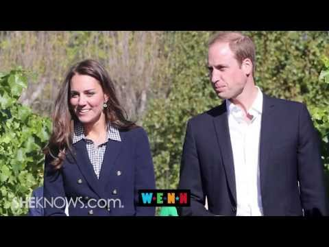 Kate Middleton Pregnant Again? Prince William Drops Hint in New Zealand - The Buzz