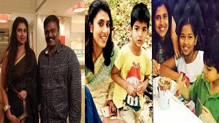 Bigg Boss 3 Kasturi Real Life Family husband ,son with daughter Stills