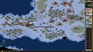 Red Alert 2 - Artic Circle 4v3 Fast Game