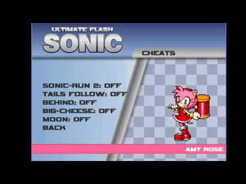 Sonic Ultimate Flash como usarlo y como usar los codes