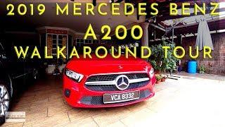 (2019) Malaysia Mercedes Benz A200 Detailed Walkaround Tour #mercedesbenzA200 #A200