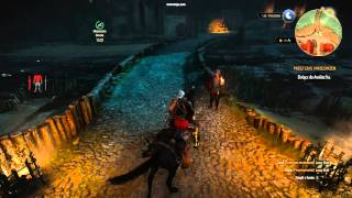 The Witcher 3 Wild Hunt - an invisible barrier bug