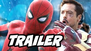 Spider Man Homecoming New Avengers Trailer and The Future Of Spider-Man