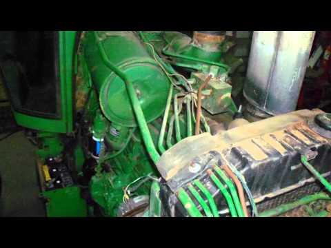 John Deere 4440 Tractor Restoration