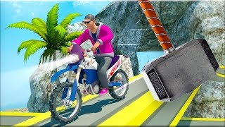 Bike Race - Stunt Racing Games - Gameplay Android game - crazy driving game