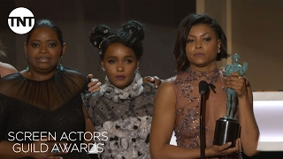 Hidden Figures Cast: Acceptance Speech | 23rd Annual SAG Awards | TNT