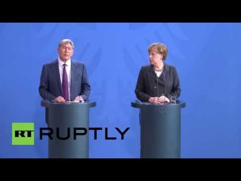 Germany: Crimean referendum result wouldn't change if repeated - Kyrgyz President Almazbek