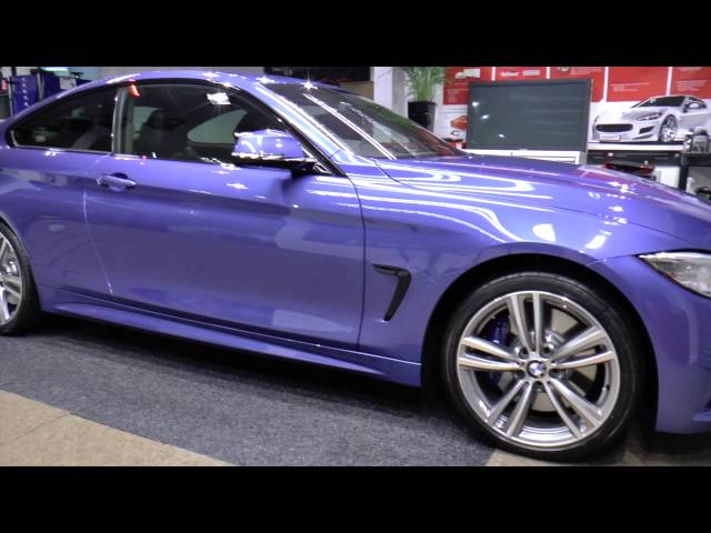 BMW 435i - Miracle New Car Detail - Modesta BC-05 coating applied