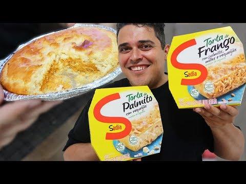 TORTA CONGELADA SADIA - Sabores Palmito com Requeijão e Frango com Palmito, Milho e Requeijão thumbnail